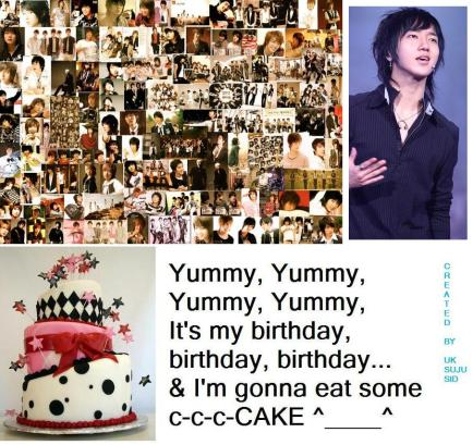 Yesung Happy Birthday