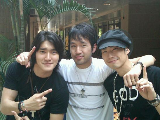 091031 Siwon with Jaeson Ma and Vanness Wu… |