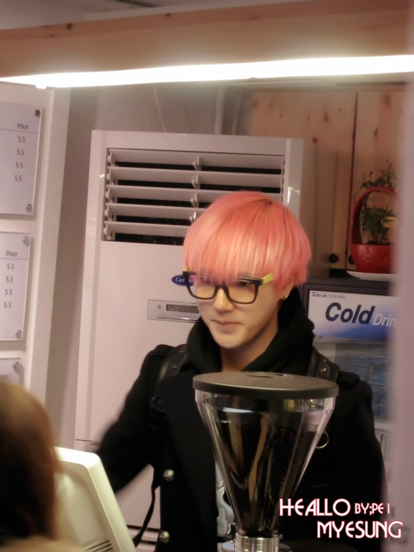 Yesung MouseRabbit 121214 1