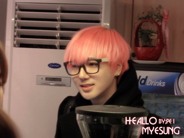 Yesung MouseRabbit 121214