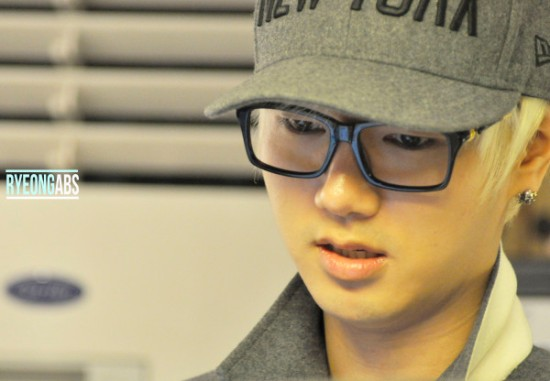121231 Yesung 1