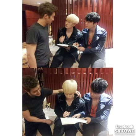 130126 Super Junior Facebook Update with Eunhyuk, Donghae & Siwon