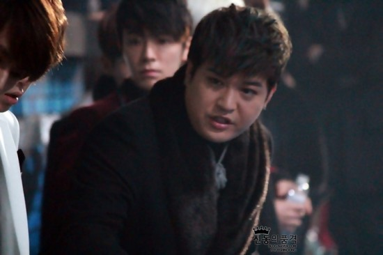 Shindong SBS Gayo 2012 1