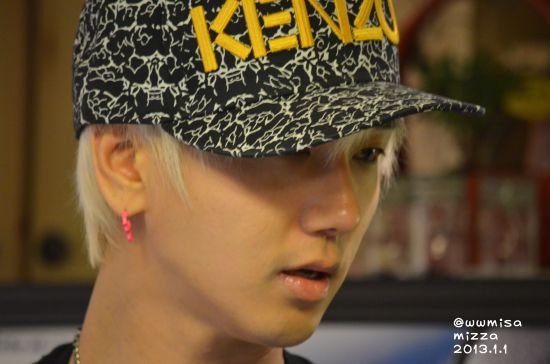 Yesung 130101 2