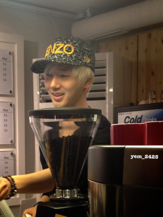 Yesung MouseRabbit 130101 8
