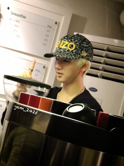 Yesung MouseRabbit 130101