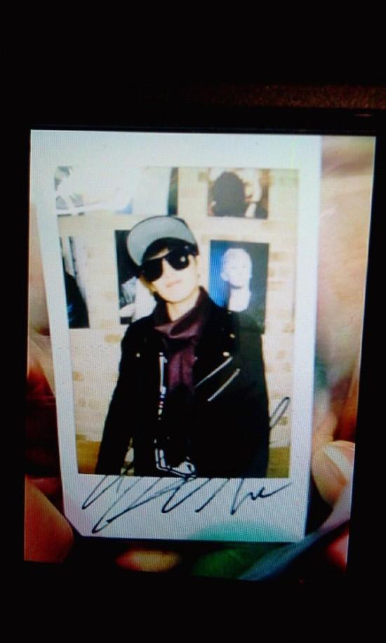 130214 HyukJae Polaroid 1