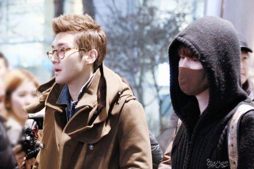 130218 Siwon and Kyuhyun