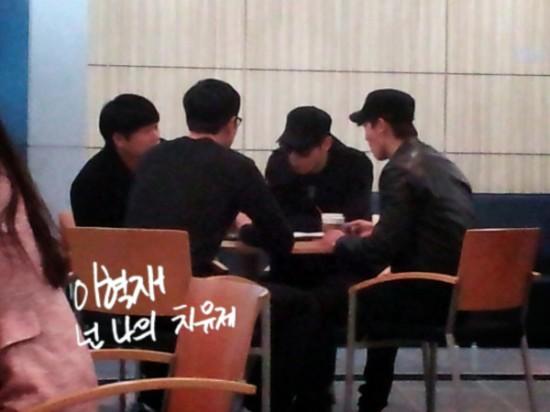 130226 Eunhyuk and Donghae