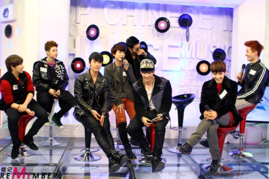 130108 Super Junior M Interview with Music Billboard by RememberM