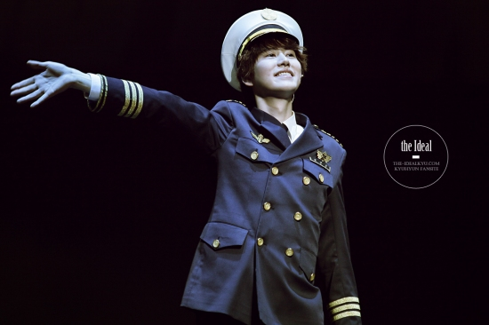 130209 Catch Me If You Can Musical with Kyuhyun by The-idealkyu (1)