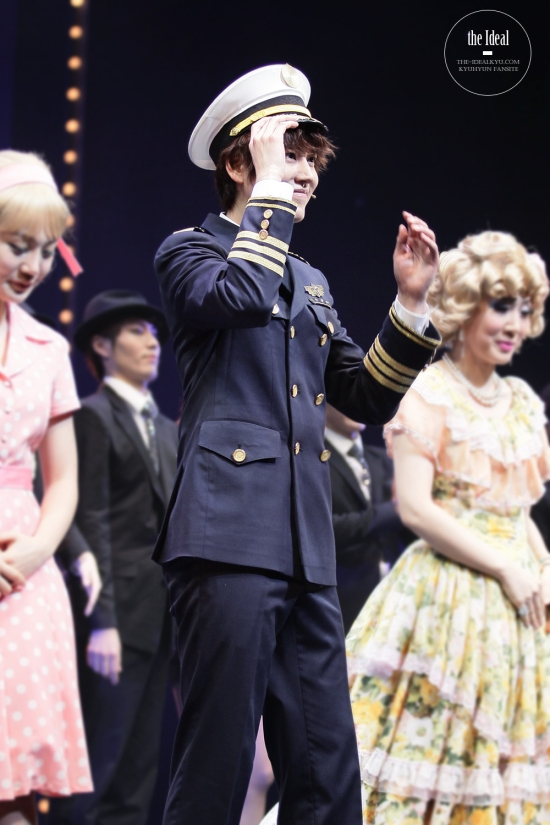 130209 Catch Me If You Can Musical with Kyuhyun by The-idealkyu (3)