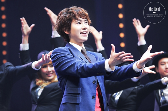 130209 Catch Me If You Can Musical with Kyuhyun by The-idealkyu (5)