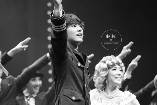 130209 Catch Me If You Can Musical with Kyuhyun by The-idealkyu (6)