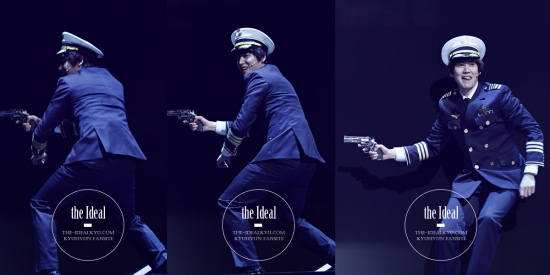 130209 Catch Me If You Can Musical with Kyuhyun by The-idealkyu (7)