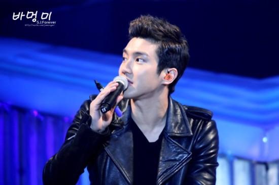 130302 SJM FM in Shanghai - Siwon by 바멍미 (4)