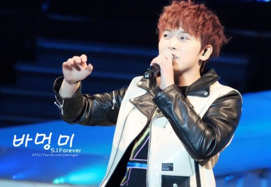 130302 SJM FM in Shanghai - Sungmin by 바멍미 (2)
