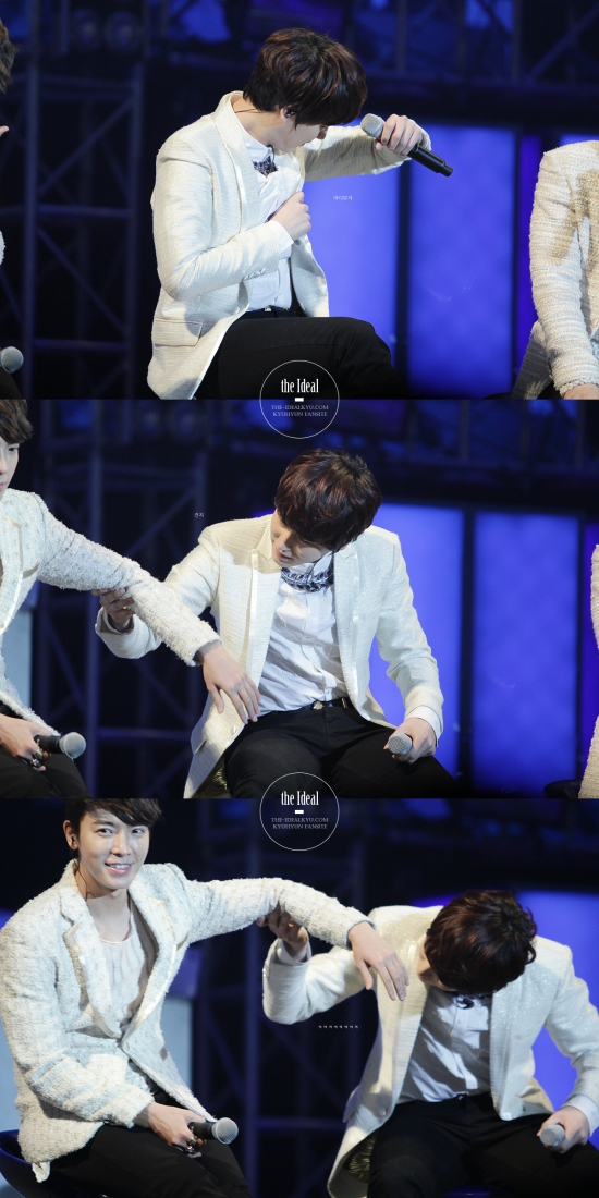 130302 Super Junior-M FM in Shanghai with Kyuhyun By The-IdealKyu (3)