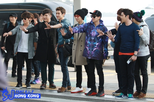 130308 Super Junior at Incheon Aiport (to Jakarta) by SJ FEAT E.L.F. HONG KONG (2)