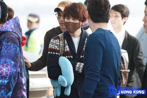 130308 Super Junior at Incheon Aiport (to Jakarta) by SJ FEAT E.L.F. HONG KONG (3)
