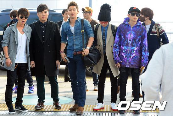130308 Super Junior at Incheon Airport (to Jakarta) (9)