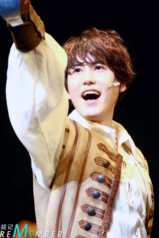 130312 Three Musketeers' Musical with Kyuhyun by RememberM (2)