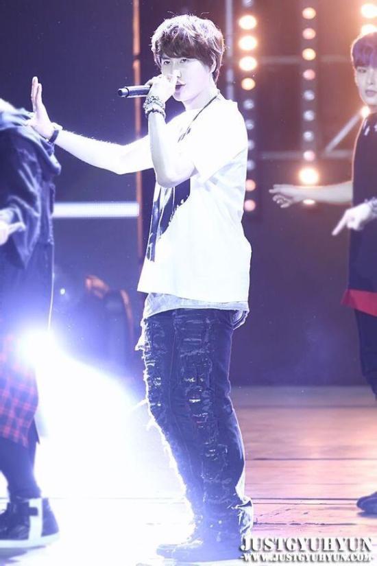 KBS Music Bank in Jakarta - Kyuhyun by JustGyuhyun (10)