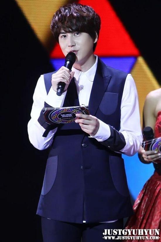 KBS Music Bank in Jakarta - Kyuhyun by JustGyuhyun (14)