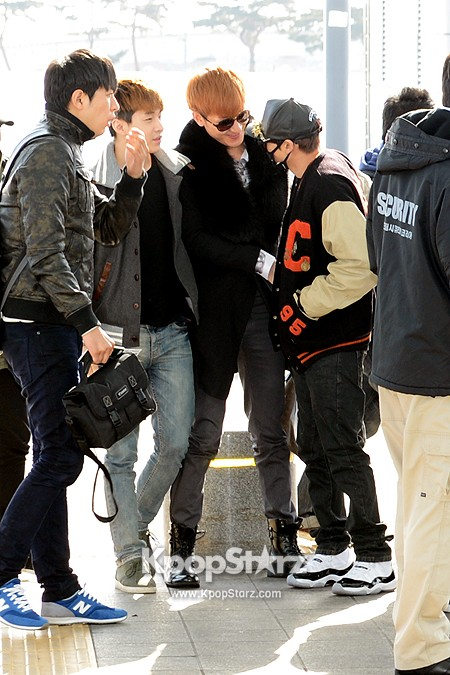 SJM at Incheon Airport to Shanghai (3)
