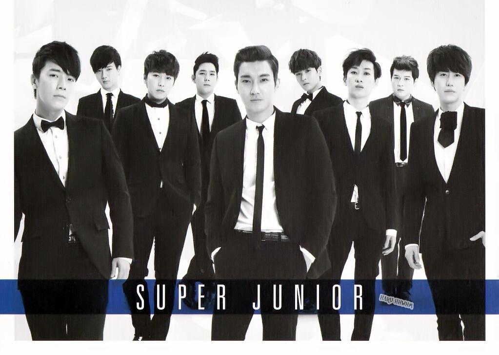 hq scan 130331 super show 5 seoul korea super junior postcard set 7p. Black Bedroom Furniture Sets. Home Design Ideas