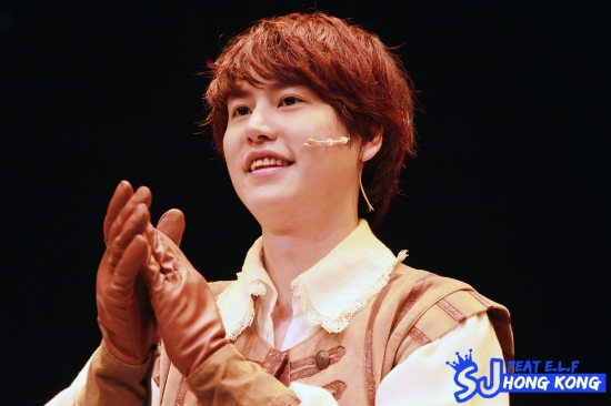 130404 'The Three Musketeers' Musical with Kyuhyun By SJ FEAT E.L.F. HONG KONG (1)