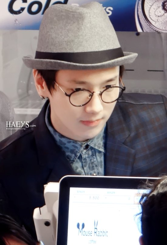 130423 Yesung at Mouse Rabbit by Haello Myesung - Photo By Sharon & Ting (13)
