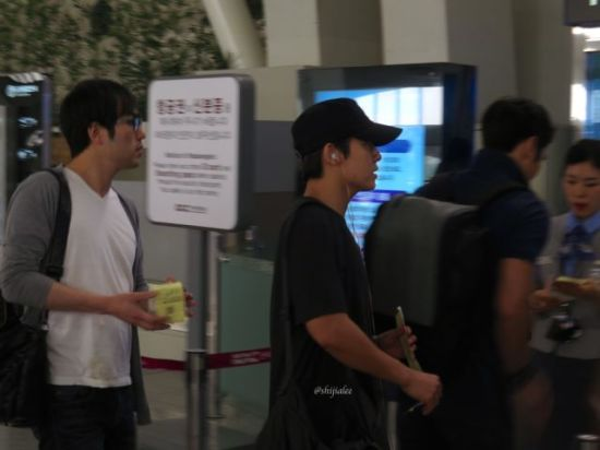 130526 Super Junior at Gimpo Airport (to Busan) by shijialee (18)