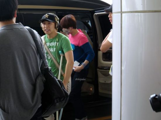 130526 Super Junior at Gimpo Airport (to Busan) by shijialee (19)