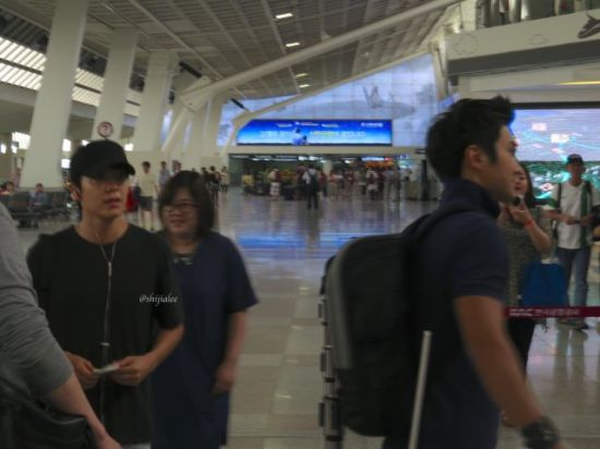 130526 Super Junior at Gimpo Airport (to Busan) by shijialee (21)