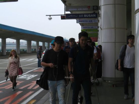 130526 Super Junior at Gimpo Airport (to Busan) by shijialee (23)