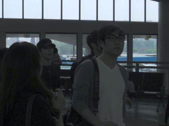 130526 Super Junior at Gimpo Airport (to Busan) by shijialee (4)