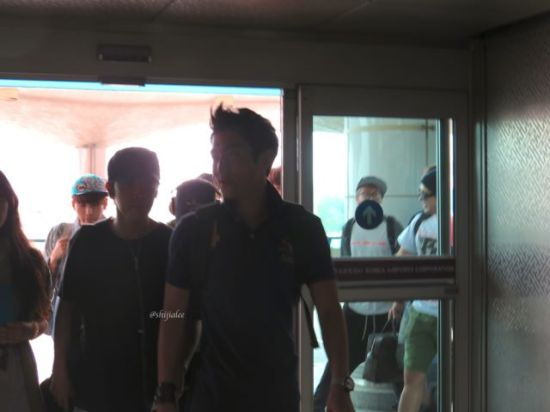 130526 Super Junior at Gimpo Airport (to Busan) by shijialee (8)