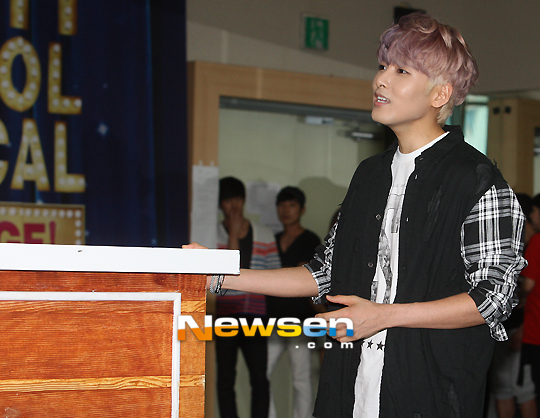 130612 OFFICIAL News 'HIGH SCHOOL MUSICAL' with Ryeowook (1)