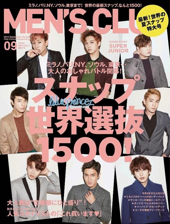 130721 Men's Club Magazine – Super Junior [HQ Scans] by blueprincez  (1)