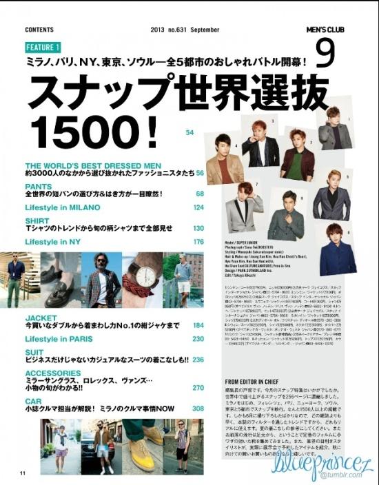 130721 Men's Club Magazine – Super Junior [HQ Scans] by blueprincez  (2)