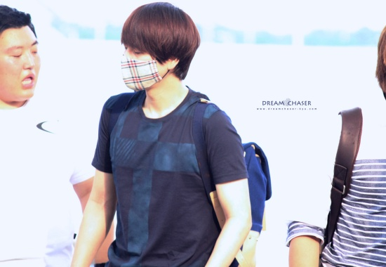 130802 Kyuhyun at Incheon Airport (to Bangkok) by DreamChaser-Kyu (3)