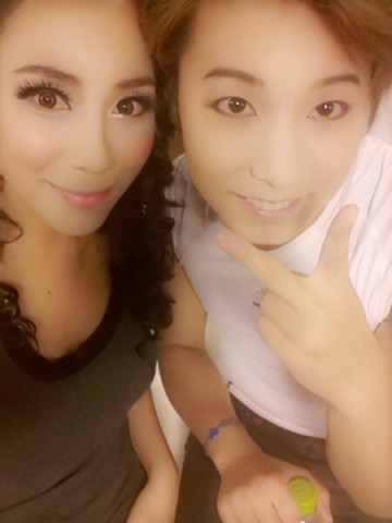 130808 Sonya Twitter Update with Sungmin