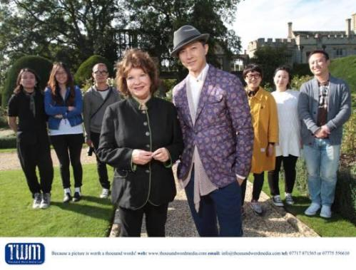 130927 hangeng with sudeley castle