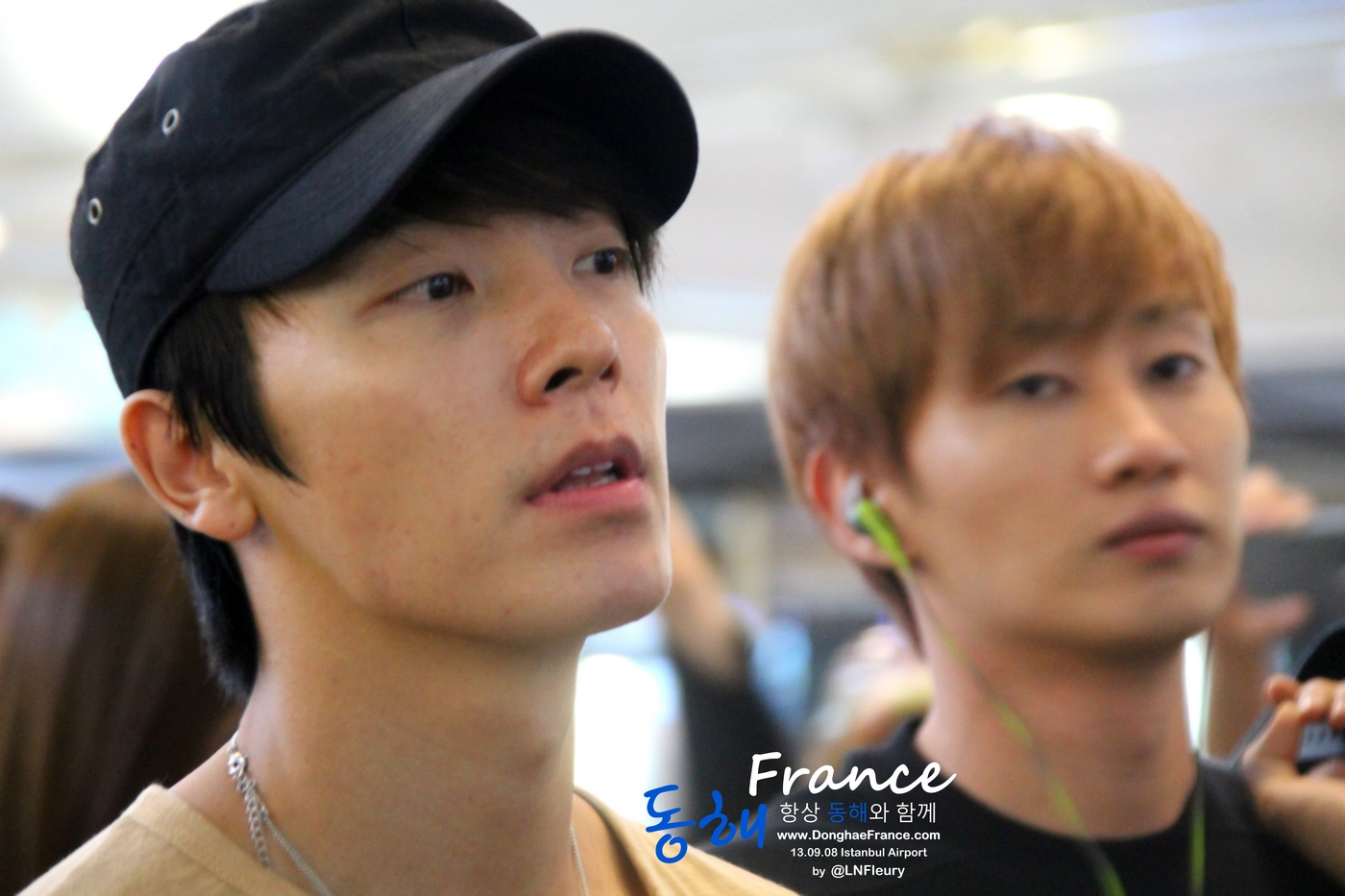 donghae at ataturk airport to korea 6p � from 130908