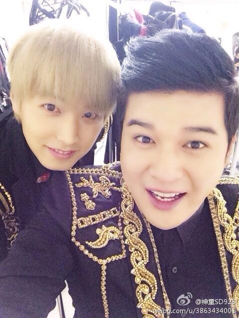 131027 Shindong and Sungmin