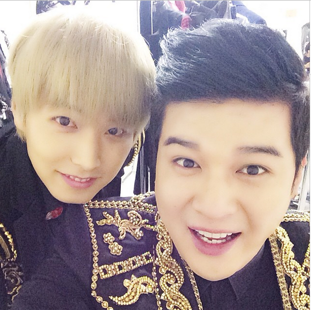 131027 Shindong and Sungmin