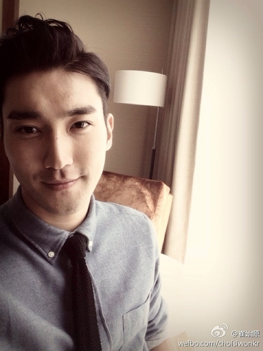 131027 siwon weibo update i miss beijing