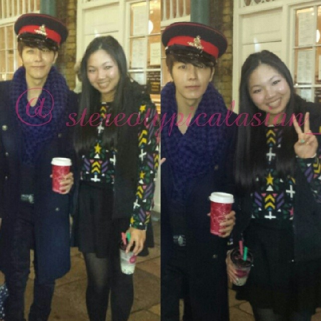 131113 donghae with fans (1)