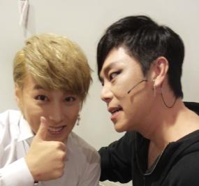 131121 Sungmin with JTR Cast (1)